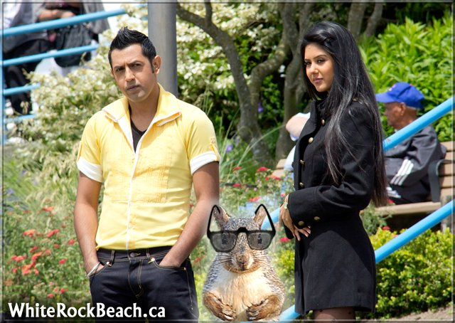 Gippy Grewal is thinking a SQUIRREL in my video - GOOD IDEA